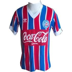 Camisa Vintage Retrô Bahia 1988 Coca Blusa Camiseta
