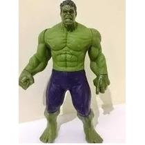 Hulk Boneco Marvel Importado 30 Cm Vingadores The Avengers