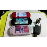 Psp Flasheado Con Memory De 16gb Y 50 Juegos Playstation