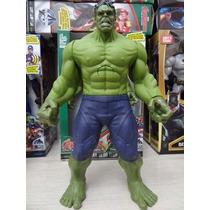 Boneco Hulk Vingadores Marvel The Avengers 30 Cm Luz E Som
