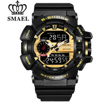 Reloj Deportivo Smael G-shock Impermeable 5 Bar - 100% Nuevo