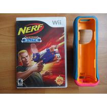 Nerf N Strike Elite Para Nintendo Wii Con Protector Control