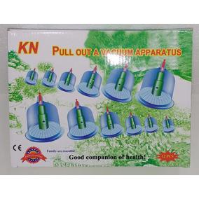 Kit Com 12 Ventosas Para Massagem Ventosoterapia Top