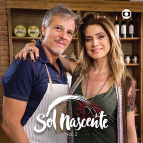 Cd Novela Sol Nascente Vol. 2 (2017) * Lacrado * Original