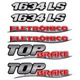 Kit Emblemas Mercedes Benz 1634ls + Top Brake + Eletronico