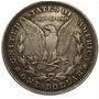 Moneda Dólar Morgan 1878 Baño Plata Acabado Antiguo Replica