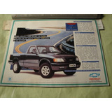 Publicidad Chevrolet S10 Pick Up Turbo Diesel Año 1996