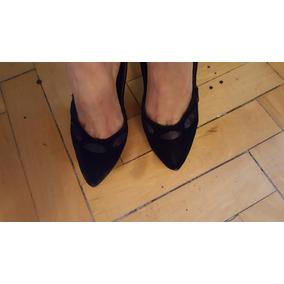 Zapatos Fiesta Terciopelo Y Raso