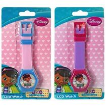 Reloj Digital Lcd - Variados Estilos Para Niños Disney Doc