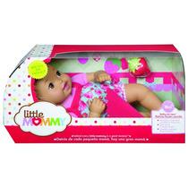 Muñeca Little Mommy Niñas Con Tetero Mattel