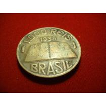 Antiga Moeda De 1000 Réis 1938 - V159 - José Anchieta - M105