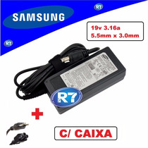 Fonte Carregador Samsung Ad-6019r Ad-8019 Ad-6019a 19v 3.16a