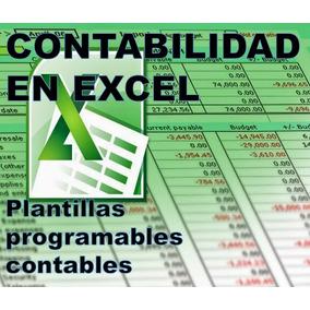 Combo Contabilidad En Excel - Plantillas Programadas