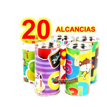 20 Alcancia Economico Juguete Piñata Cumple Bolo Premio