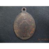 Medalla Antigua Virgen Milagrosa De Paris