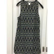 Vestido De Polyester Marca H&m Talle 6 Small Original Or