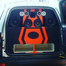 Cajones Turbo Y Empotrados Para El Car Audio