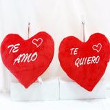 Corazon De Peluche Con Frase Te Amo