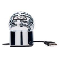 Microfono Condenser Usb Samson Meteorite Pc Mac Ios Envios