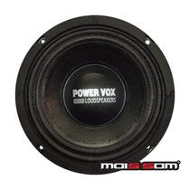 Alto Falante Mid Bass Power Vox Mb450 225wrms - Toca Muito!