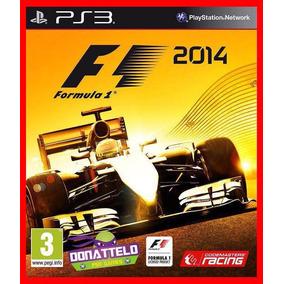 F1 2014 Ps3 Psn Play 3 Corrida Envio Rápido!