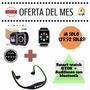 Smartwatch Gt08 Reloj Celular C/caja+audifonos Via Bluetooth