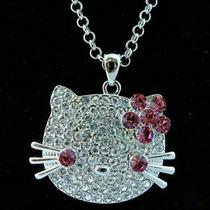 Hello Kitty Joyería Swarovski Collares Cadenas Bisutería