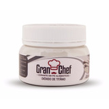Corante Pó Gran Chef Branco Dióxido D Titânio15g