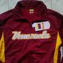 Sweter Chaqueta De Béisbol De Venezuela Color Vinotinto