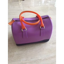 Cartera Furla Candy Bag De Adulto Tipo Baul Italiana