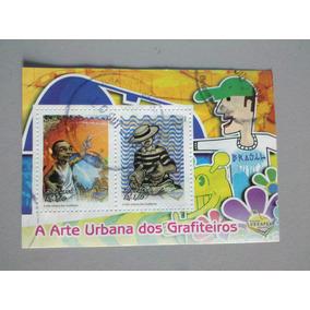 Selo Postal Brasil A Arte Urbana Dos Grafiteiros