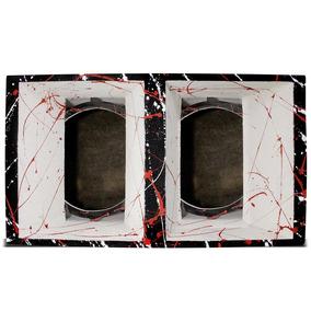 Caixa De Som Thor Medio Grave 12 Pol Preta E Branca
