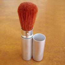 Pincel Facial Retratil Maquiagem P- Blush Pó Base Iluminador