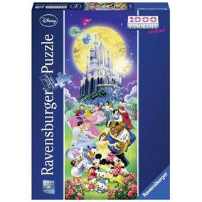 Ravensburger Rompecabezas Castillo Disney Mundo 1000 Pz Pano