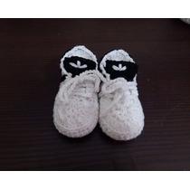 Escarpines Zapatitos Adidas Para Bebes Tejidos A Crochet
