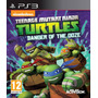 Tortugas Ninja Danger Of The Ooze Ps3 | ¡ Entrego Y A !