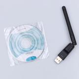 Adaptador Wifi Ralink 5370 + Antena Compativel C/ Receptores