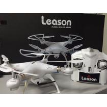 Drone Quadricoptero Com Camera 2g Controle Leason Ls126