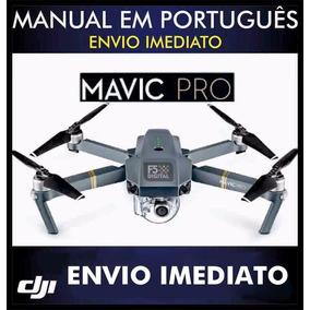 Manual Em Português Do Drone Dji Mavic Pro - Envio Imediato