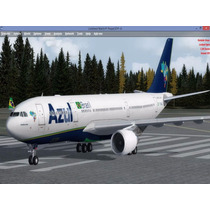 Fsx - P3d - Mega Aeronave A330 Da Azul