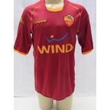 Camisa De Futebol Do Roma Da Italia 2008 2009 Wind Kappa
