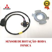 Sensor Rotação Do Virabrequim+roda Fonica L200 Hpe Outdoor
