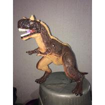 Dinosaurio Carnotauro Con Sonidos 63cm Largo 32cm Alto Nuevo