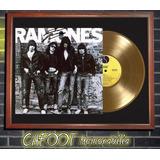 The Ramones Ramonestapa Lp Firmada Y Disco Oro
