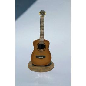 Guitarra En Porcelana Fria. Adorno De Torta A Pedido