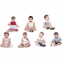 Kit Com 20 Peças De Roupa Infantil Elian