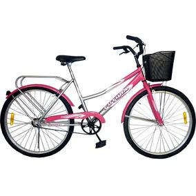 Bicicleta Urbana Dama Futura Rod 26 Modelo Country Bicolor
