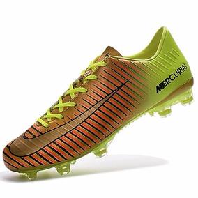 Chuteira Nike R10 Amarela (campo) - Chuteiras no Mercado Livre Brasil 14741f94c6b61