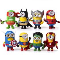 Minions Edicion Unica De Super Heroes Batman Iron Man Y Mas