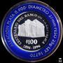Mg* Moneda Uruguay Centenario Banco República 100 Pesos 1996